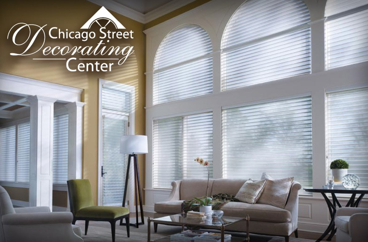 Window treatments shades and blinds from chicago street decorating